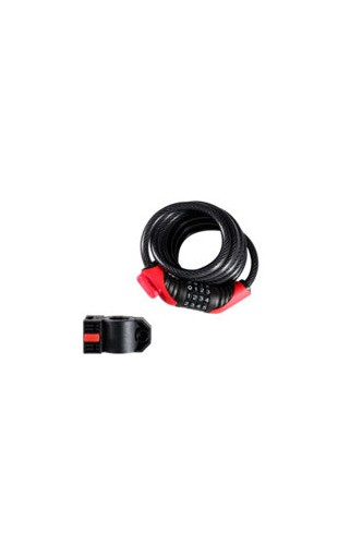 Lock Bontrager Cable Combo 10mm x 72in Black