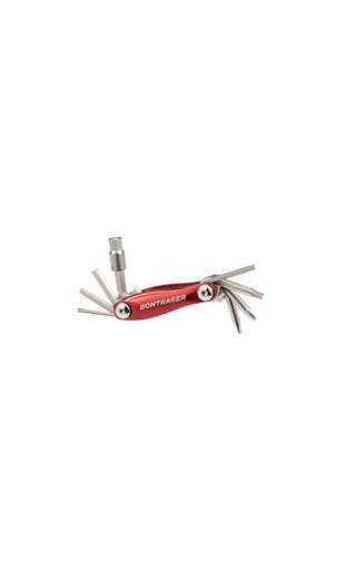 Tool Bontrager Multi 16 Function Aluminium Red