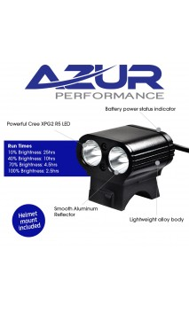 AZUR Dual Mini USB 800 Lumens LIGHT
