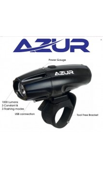 AZUR USB Head Light 800 Lumen
