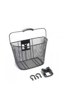 Basket steel with quick release mount